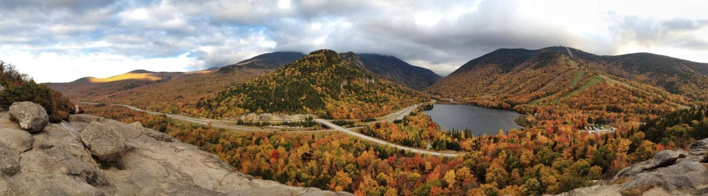 This iPhone photograph shows the beautiful fall foliage in Franconia Notch last week, as viewed from Artist's Bluff. I'll explain why this is an iPhone shot during my next installment of this series... stay tuned!