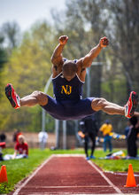 TCNJ, TCNJ Lions, The College of New Jersey, Track and Field, athletics, college, sports, Kevin Jones, track and field, long jump