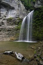 Eagle Cliff Falls, Havana Glen, Montour, New York, USA, waterfall