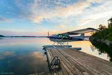 Canada, Lake Temagami, Ontario, Skywagon 185, Temagami, Temagami Wilderness, adventure, airplane, dawn, float plane, lake, pastel, peaceful, plane, reflection, sea plane, sunrise, tranquil, travel