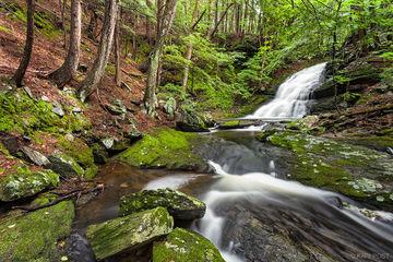 waterfall, Chesterfield, New Hampshire, waterfall