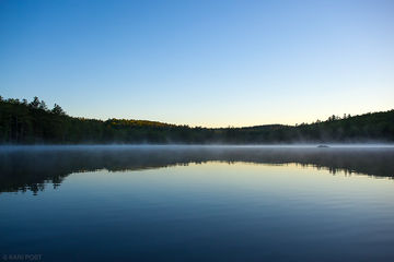 cloudless, calm, pond, sky, New Hampshire