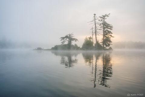 Island Sunrise print