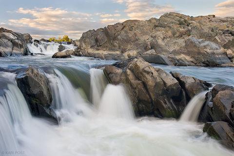 Potomac River Waterfalls print