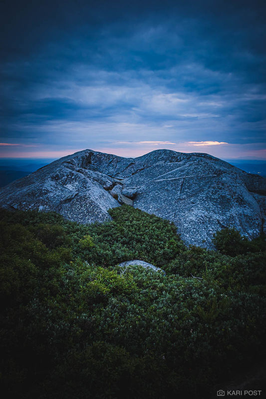 Blue Hour on Mount Monadnock