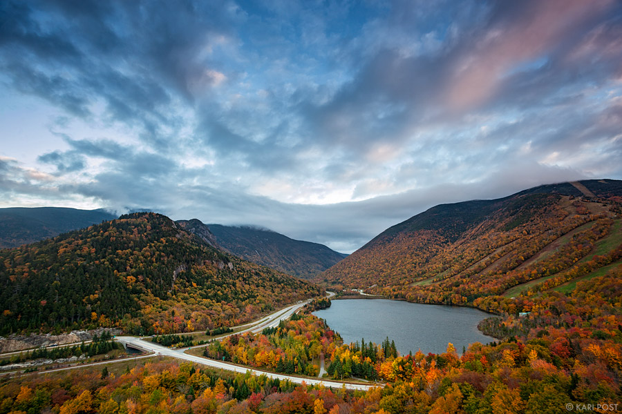 NH, New England, New Hampshire, North America, USA, United States, White Mountain National Forest, autumn, fall, tide, photo